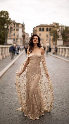 Elegant Dresses, Pretty Dresses, Beautiful Dresses, Evening Dresses, Prom Dresses, Formal Dresses, Wedding Dresses, Formal Prom, Off Shoulder Gown