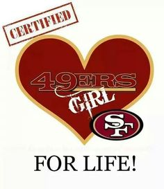 Niner girl! Ohhhhhhh yes !!! ❤️ love my niners Watch Football, Football Memes, Nfl Football, Football Season, San Francisco 49ers, Sf Niners, Niners Girl, Forty Niners, Dodgers