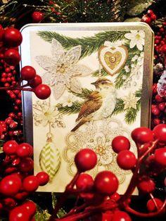 Beautiful Tins of Beautiful Holiday Cards!