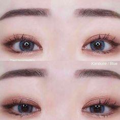 korean makeup looks Korean Makeup Tips, Korean Makeup Look, Korean Makeup Tutorials, Asian Eye Makeup, Natural Eye Makeup, Ulzzang Makeup Tutorial, Natural Beauty, Make Up Looks, Beautiful Eye Makeup