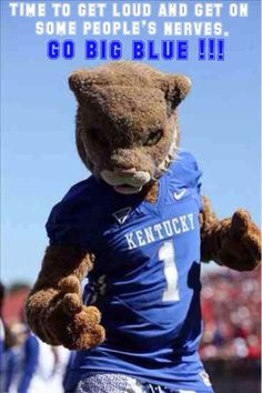 The U.K. Mascot. Incoming freshman need to know who this is because he is so big and such a major part of the culture and community at uk