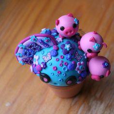 polymer clay by Strawberry Anarchy, via Flickr