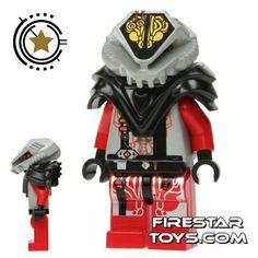 LEGO Space - UFO Alien Red | Space LEGO Minifigures | LEGO Minifigures | Firestartoys.com