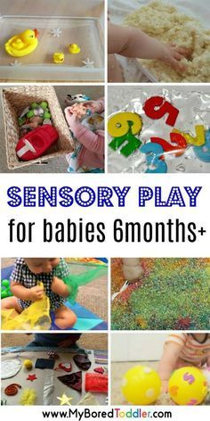 easy sensory play ideas for babies 6 months pllus.- easy sensory play ideas for babies 6 months pllus. Baby activities involving sen… easy sensory play ideas for babies 6 months pllus. Baby Sensory Play, Baby Play, Sensory For Babies, Games For Babies, Baby Sensory Ideas 3 Months, Diy Toys For Babies, Baby Sensory Bags, Sensory Rooms, Sensory Bins