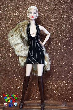 https://flic.kr/p/k7XcTq | In Greece | Fashion Royalty After Tonight Eugenia Perrin Frost  Fashion: Dollsalive  Fur: Pottery Barn
