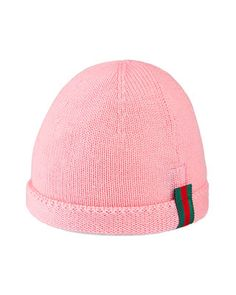 981dddad95c Gucci Kids  Knit Web Trim Beanie Hat