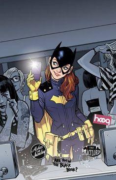 Batgirl selfie!