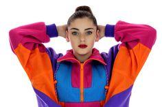 90s Neon Ski Jacket 80s Vintage Windbreaker by neonthreadsdesigns, $42.00