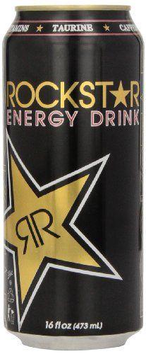 Rockstar Energy Drink, 16-Ounce (Pack of 24) « Blast Groceries