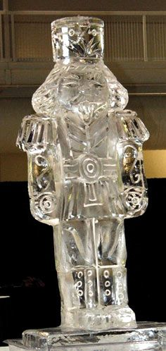 Christmas Ice Sculptures from Brilliant Ice Sculpture