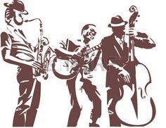 Jazz musicians photo