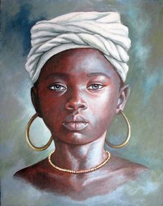 African Children Paintings By Dora Alis 2012