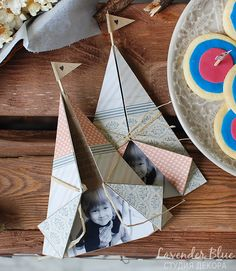 Teepee Indian Tent Kids Party invitations paper boho tribal handmade folded origami