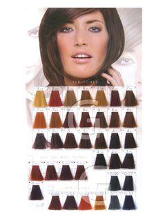 Keune Tinta Color Red Infinity Shades Men Hair Color Hair Color Chart Permanent Hair Color