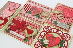 Two Crazy Crafters: Giveaway Winner and A Valentine Peek