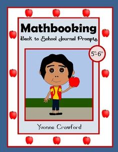 For 5th and 6th grade: This is a packet of 30 math journal prompts with a back to school theme.