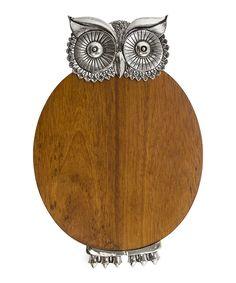 Owl Wood Serving Board