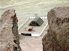 This is a precise replica of the Tabernacle during the era of Moses, Samuel, Saul and David. The measurements and instruments of this Tabernacle in Timna, are exactly as those of the Bronze Age Tabernacle.