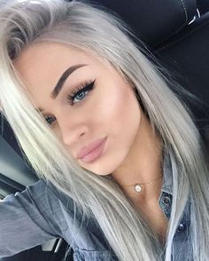Best Hair Colors For Fair Skin: 35 Examples Not To Miss - Hair Color Ideas - Hair Designs Hair Color For Fair Skin, Cool Hair Color, Hair Colors, Beauty Makeup, Hair Makeup, Hair Beauty, Eye Makeup, Makeup Inspo, Blonde Hair With Dark Eyebrows