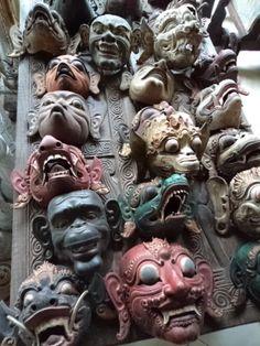 Original Indonesian Masks - Bali