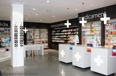 Pharmacy in Sant Carles de la Ràpita by mesquearquitectura: