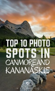 Top 10 Photography Spots in Canmore and Kananaskis Country Capture postcard worthy photos on your trip through the Canadian Rockies. Find out what are the best photography spots in Canmore and Kananaskis Country. Canadian Travel, Canadian Rockies, Amazing Photography, Travel Photography, Aerial Photography, Landscape Photography, American Express Rewards, Photography Workshops, Photography Basics