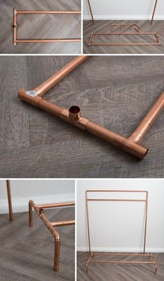 This DIY Copper Pipe Wardrobe Stand Is AMAZING! <br> This copper pipe wardrobe stand is stunning and fabulously easy to make using our super detailed pattern and instructions! Perfect for your wedding morning! Diy Wedding Backdrop, Diy Wedding Decorations, Diy Backdrop Stand, Copper Wedding Decor, Cake Table Backdrop, Diy Wedding Photo Booth, Ceremony Backdrop, Elegant Bridal Shower, Copper Tubing