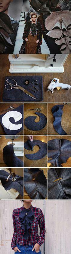 DIY Fashionable Frill Embellishment