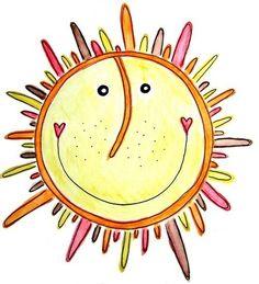 here comes the sun ♥ Die und der Walking In Sunshine, Good Morning Sunshine, Sunday Morning, Sun Doodles, Sun Worship, Sun Moon Stars, Sun Art, You Are My Sunshine, Sunshine Box