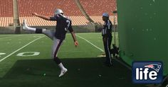 Behind the scenes: Pepsi commercial shoot with Stephen Gostkowski | New England Patriots