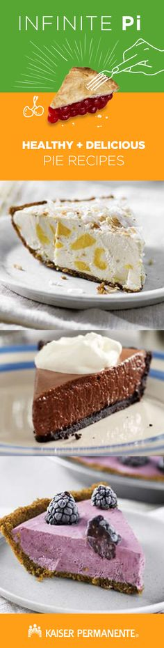 Both healthy AND delicious, these well-rounded pie recipes are perfect for Pi Day. Healthy Pie Recipes, Smart Snacks, Pi Day, Key Lime Pie, Food Menu, Pecan, Cooking Tips, Healthy Living, Nutrition
