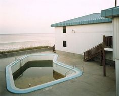 Abandoned swimming pools....
