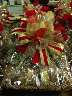 Holiday gift baskets begin at $45 and can be customized to suit your every desire!