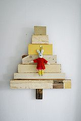wood & wool x-mas tree 001