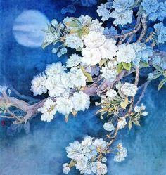 Вишнёвая красота в китайской живописи