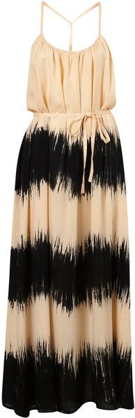 TopShopTie Dye T Back Maxi dress. LOVE this