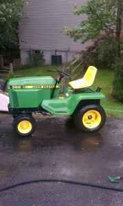 John Deere 322 Tractor; It Was Fun Times On This When I Was 4 That