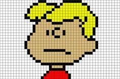 Peanuts Schroeder Pixel Art