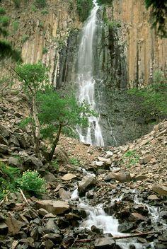 Palisade Falls, Boseman, MT   © Marsha K. Russell