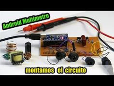 Arduino Digital Multimeter/Oscilloscope | N.E.C.O Arduino, Digital Ammeter, Start Screen, Light Meter, Printed Circuit Board, Android, Electronics Projects, Project Yourself, Circuit