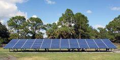Solar Photovoltaic Ground Rack in Alva, FL | http://FafcoSolar.com
