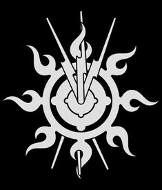 Ash's symbol from Sherrilyn Kenyon's website...my fave author who embraces her geekdom then writes her damaged yet hunky men in a way that everyone can love.