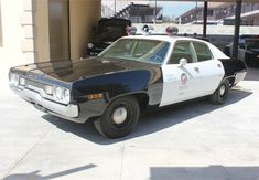 The LAPD patrolled with this 1971 Plymouth Fury. Photo courtesy of the Los Angeles Police Museum