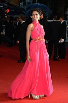 Freida Pinto in Gucci at Cannes