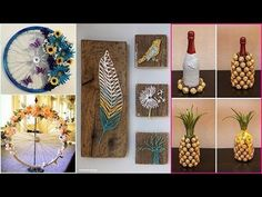 DIY ROOM DECOR! 29 Easy Crafts Ideas at Home for Teenagers - YouTube