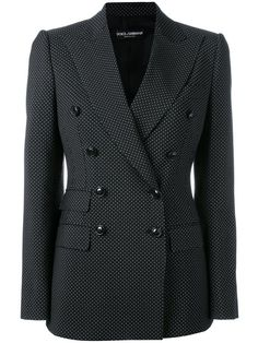 DOLCE & GABBANA Double-Breasted Jacket. #dolcegabbana #cloth #jacket