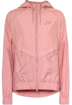 Nike Nsw Hooded Jacket In Redsta Cute Nike Outfits, Casual Outfits, Outfits For Teens, Denim Fashion, Fashion Outfits, Pink Jacket, Red Nike Jacket, Nike Sweatshirts, Cute Jackets