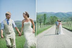Cades Cove Wedding #weddings #mountains #brides #smokeymountains Photo by Dixie Pixel http://www.thebridelink.com/blog/2012/12/13/smokey-mountain-wedding-by-dixie-pixel/