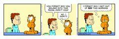 Garfield | Daily Comic Strip on June 15th, 2016