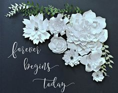 Paper Flower Backdrop. PhotoBooth. Photo Booth by LittleRetreats